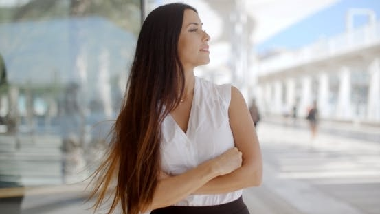 Thumbnail for Beautiful Business Woman In White Shirt