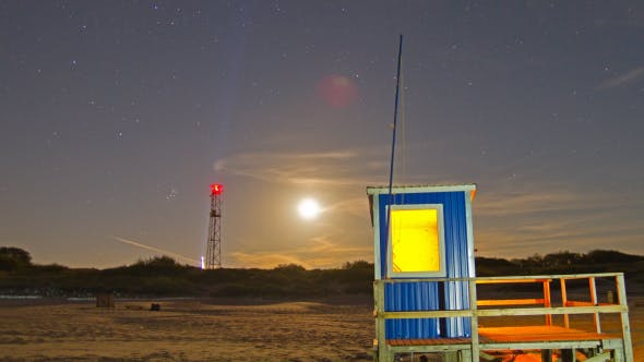 Thumbnail for Lifeguard Hut On The Beach