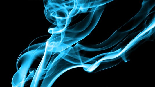 Blue Silky Smoke