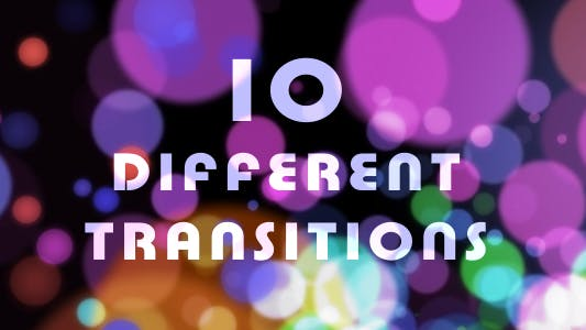 10 Particle Transitions (60 FPS)