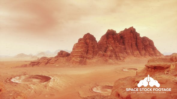 Thumbnail for Martian Landscape One