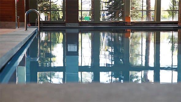 Empty Swimming Pool Indoor