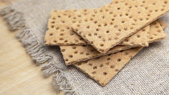 Dry Flat Bread Crisps