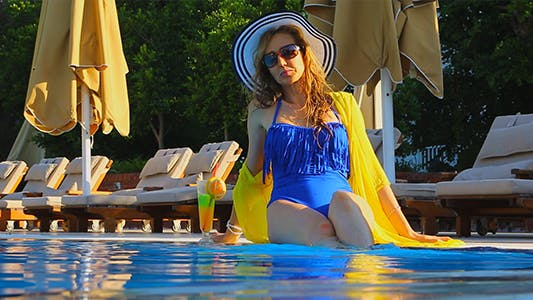 Thumbnail for Enjoying By The Pool