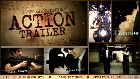 Thumbnail for Grunge Action Trailer
