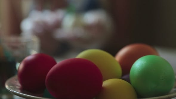 Thumbnail for Coloring Easter Eggs