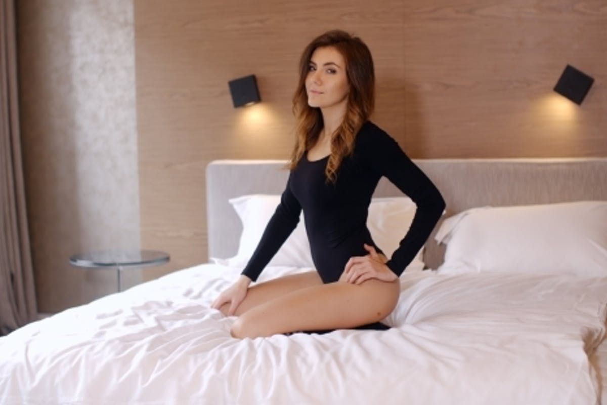 Sexy Girl In Bed