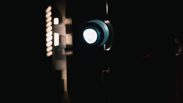 Cover Image for Vintage 8 Mm Film Projector