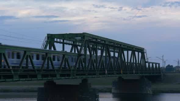 Cover Image for Bridge Across The River Electric Locomotive Pulls