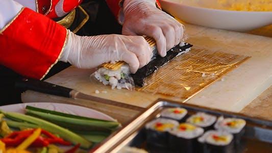 Thumbnail for Herstellung von Sushi