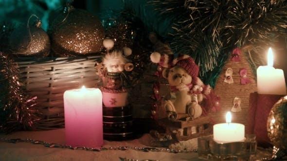 Thumbnail for Christmas Decoration, Bears Balls