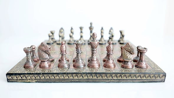 Thumbnail for Chessboard With Chess Pieces