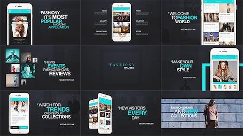 Fashion App Promo