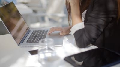 Business Woman Computer