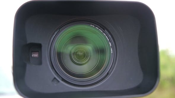 Thumbnail for Digital Video Camera Lens With a Hood