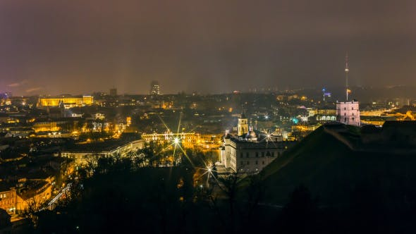 Thumbnail for Old Town Of Vilnius, Lithuania