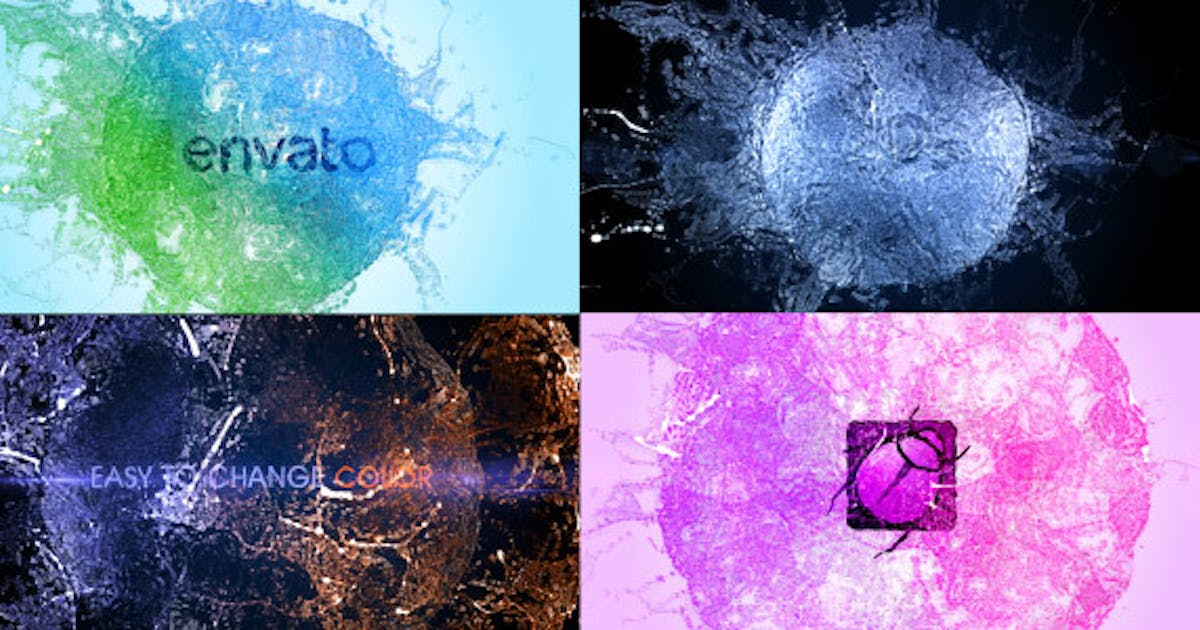 Splash Logo - Particle Effect 11 by TimMG