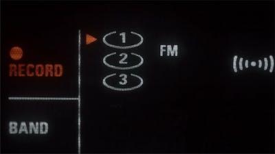 FM Radio Tuner that Stops on a Radio Mode
