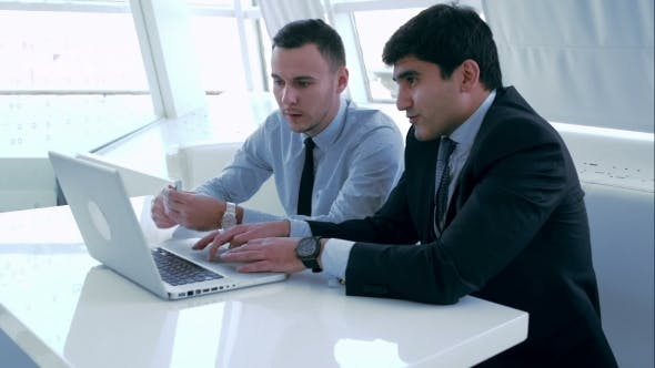Thumbnail for Business Partners Discussing a New Project