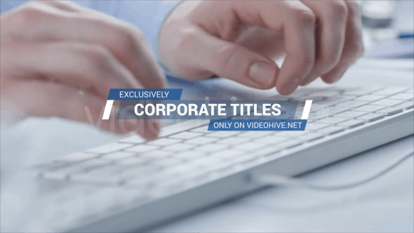 Thumbnail for Corporate Titles and Lower Thirds 2
