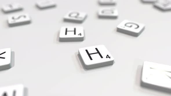 Thumbnail for HELLO Word Being Made with Letters