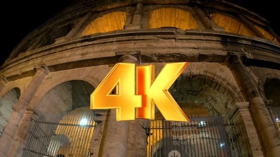 Thumbnail for Night View Of World Famous Colosseum