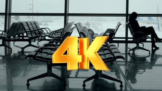 Thumbnail for Lounge With Passengers In Vnukovo Airport, Moscow