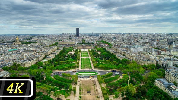 Thumbnail for Champ De Mars From Eiffel Tower