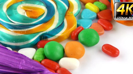 Thumbnail for Sweet Candy Jelly Bonbon Lollipop Snack Sugar 12