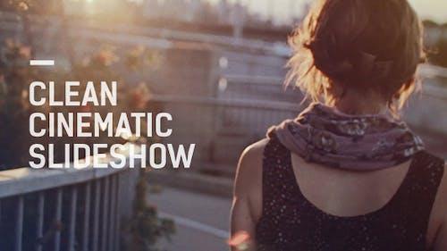 Clean Cinematic Slideshow / Montage Reel / Simple Minimal Opener / Travel Adventure