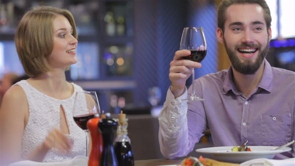 Thumbnail for Collaborative Romantic Dinner In a Restaurant