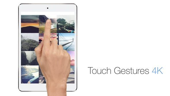 Thumbnail for Touch Gestures 4K