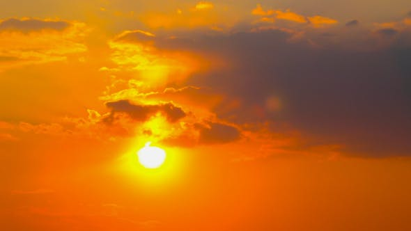 Thumbnail for Sunset Clouds, Sun