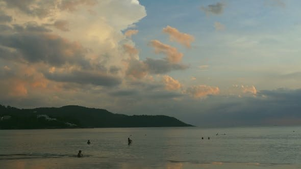 Cover Image for Evening Beach In Phuket