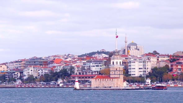 Thumbnail for Maiden's Tower At Istanbul Boshporus