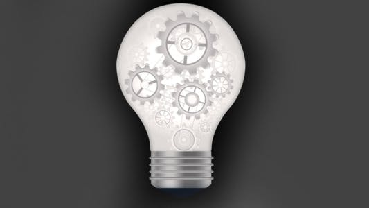 Animated Light Bulb