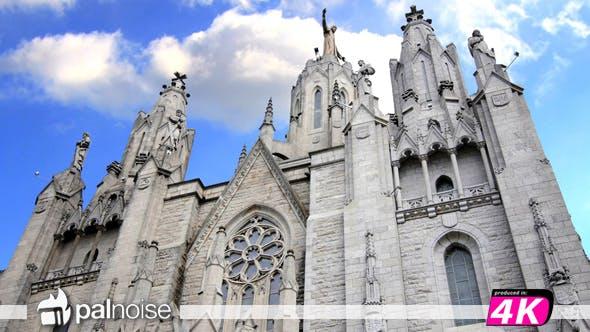 Church & Clouds 02