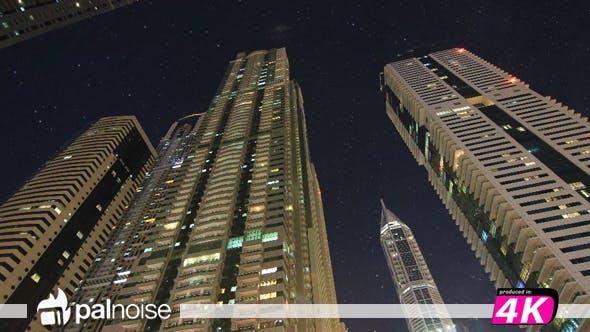 Thumbnail for Dubai Marina Skyscraper & Stars