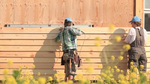 Thumbnail for New Wood Siding for the House