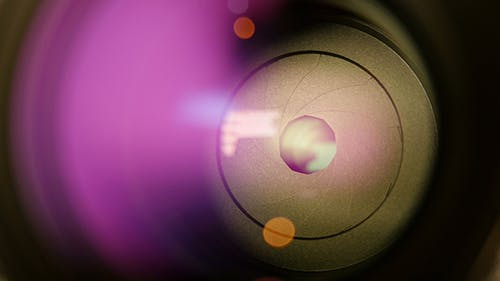 Opening And Closing Camera Lens Diaphragm