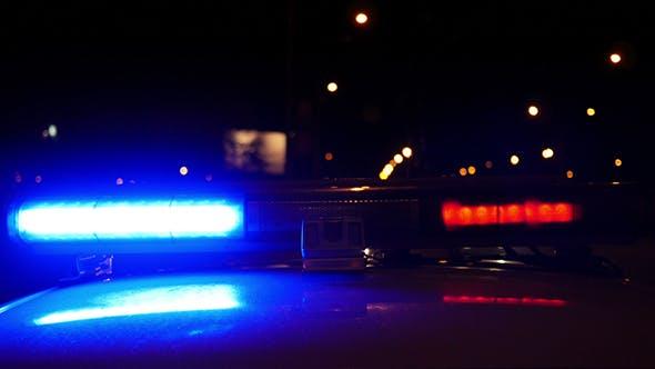 Cover Image for Alarm Police Flashing Light Siren Blinking