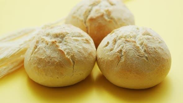 Loafs of Wheat Bread