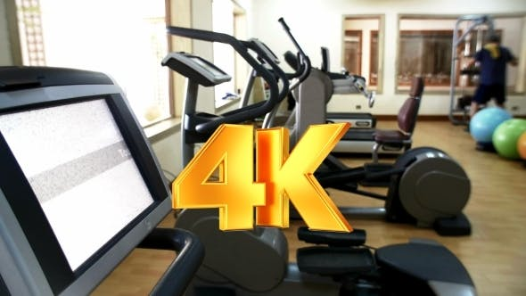 Cover Image for Fitness Center With Exercise Machines
