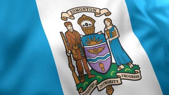 Edmonton City Flag (Canada)