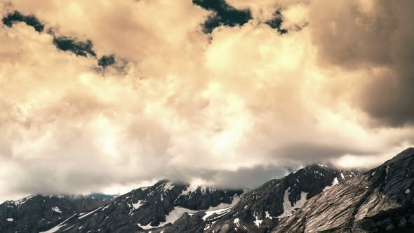 Thumbnail for Most Clouded Sky High Above The Mountains