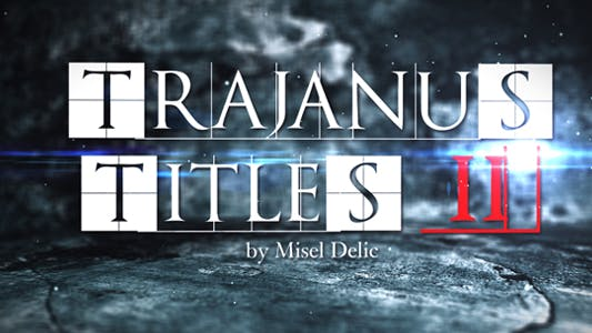 Thumbnail for Trajanus Titles 2 - Trailer