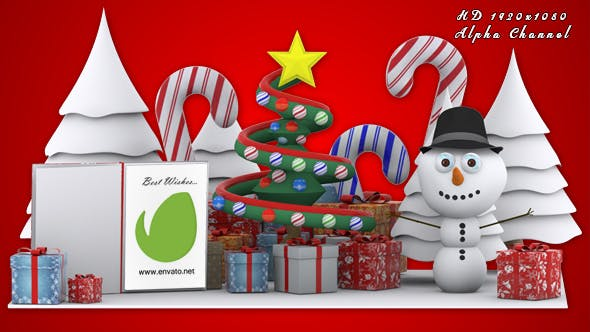 Thumbnail for Christmas Tree Greetings