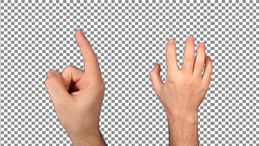 Thumbnail for Hand Touch Screen Gestures
