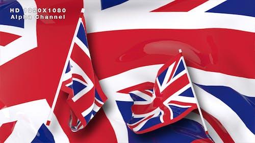 Flag Transition - United Kingdom