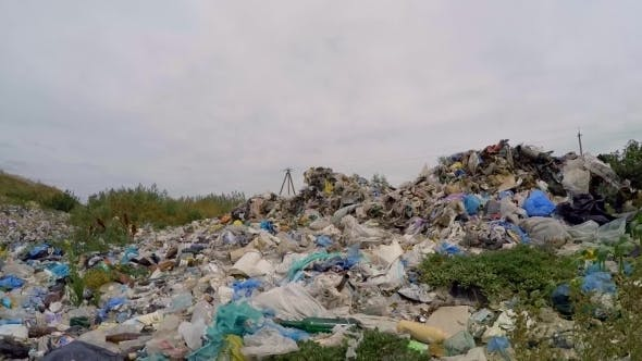 Thumbnail for Large Heap Of Wastes And Garbage Outside City